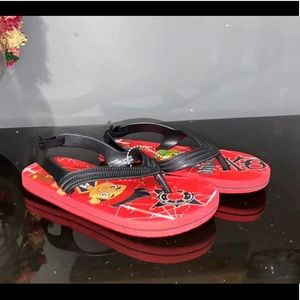 Jake and the neverland pirates flip flops